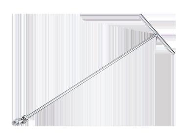 Вороток 3/8' Т-образный с карданом  500мм KINGTONY 3795-24