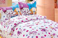 """Детское постельное бельё в кроватку  Le Vele сатин """"B.Kitties"""""""