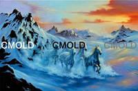 "Алмазная вышивка ""Легенда о лошадях"""
