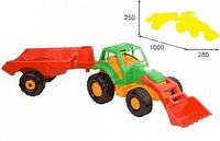 Трактор игрушка Орион с прицепом 993