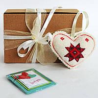 Сувенирный набор валентинка