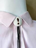 """Подвеска керамическая медальон с подвижным креплением """"Знак вопроса"""" авторская работа глазурь"""