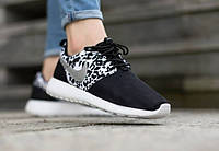 "Nike Roshe Run ""Black and White Cheetah Print"""