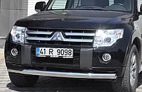Кенгурятник на Mitsubishi Pajero Wagon 4  (c 2006--) Митсубиси Паджеро Вагон