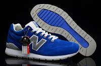 Женские кроссовки New Balance 996 Blue в синем цвете оригинальные