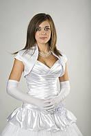 Болеро белое с коротким рукавом