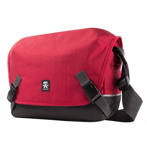 Оригинальная сумка для зеркального фотоаппарата и планшета CRUMPLER Proper Roady 7500 (deep red), PRY7500-002