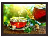 Мини поднос на подушке Утренний чай