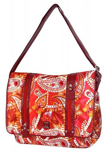 Яркая молодежная сумка Daniel Ray нейлон 42,582604 красная