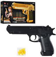Детский пистолет с пульками ES882-F128