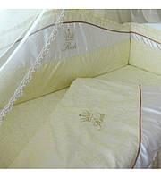 Комплект детского постельного белья «Rich» Swarovski для кроватей софа 7 эл.