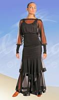 Костюм для стандарта:юбка ЮС-230 + блуза БЛ-246(в наличии р.42)