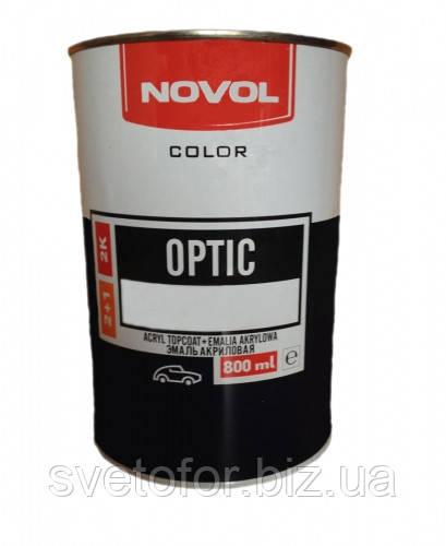 Акриловая эмаль NOVOL Optic 417 Пицунда 0.8л, без отвердителя