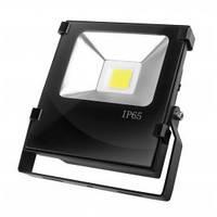 LED Прожектор EUROELECTRIC  30W 6500K classic (чорний)