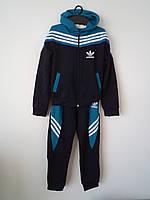 """Детский спортивный костюм с капюшоном """"Adidas 1"""" (122-140р)"""