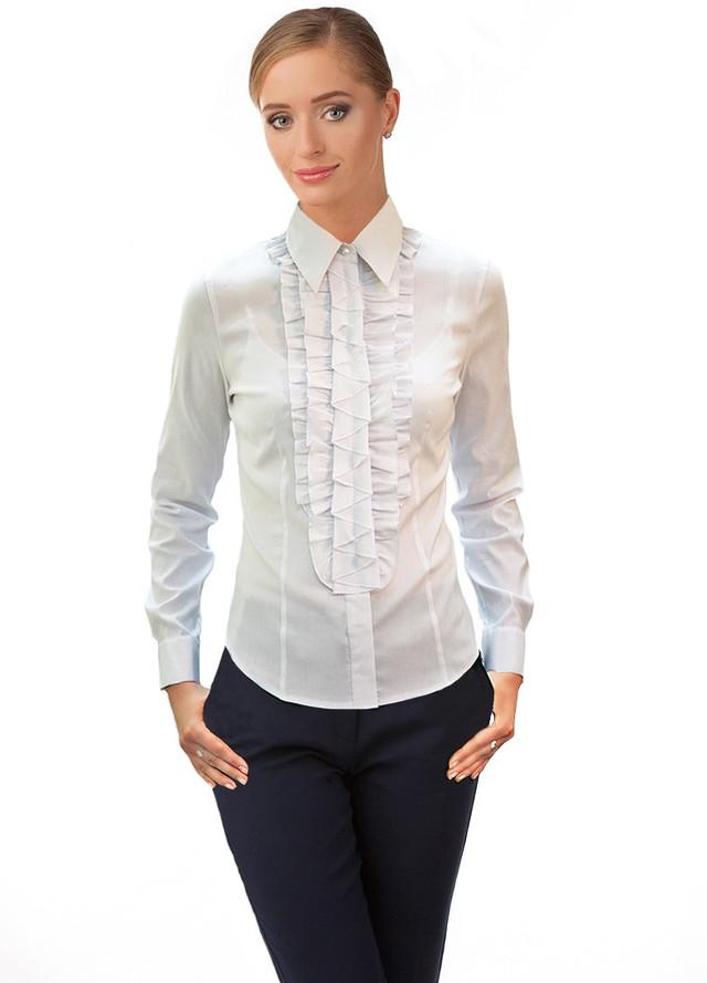 Белые женские блузки купить дешево