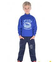 Тёплые спортивные штаны для мальчика р.104-128