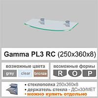 Полка стеклянная Сommus PL3 RС