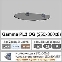 Полка стеклянная Commus PL3 OG