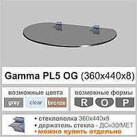 Полка стеклянная Commus PL5 OG