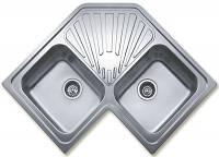 Кухонная мойка TEKA CLASSIC ANGULAR 2B полированная