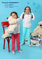 Хлопковая пижама для девочки МАЛЫШКА от ТМ Овен