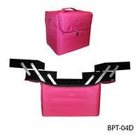 Чемодан-сумка тканевый для инструмента.Цвет-.фиолетовый.Размеры 29х21х27