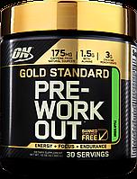 Pre-Workout Gold Standart Optimum Nutrition 330g (Фруктовый пунш, Зеленое яблоко) Предтренировочный комплекс