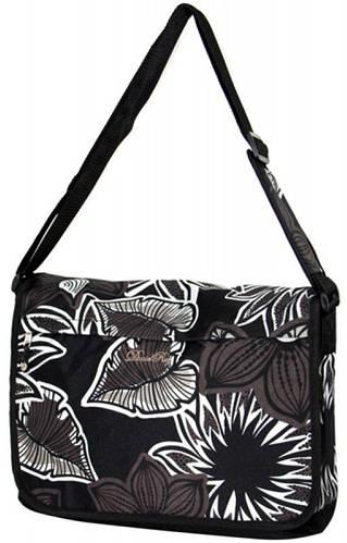 Ультрамодная молодежная сумка Daniel Ray полиэстер 43,554189 черная