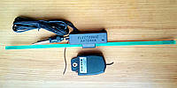 Автомобильная антенна WEST (Вест) с усилителем и фильтром помех - прием стерео передач в диапазонах УКВ и FM