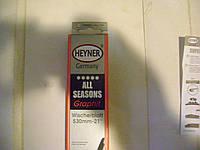 Дворник  HEYNER  530  мм  с доп резинкой
