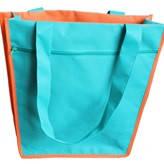 Эко - сумка на замке с карманом двойной спанбонд 40*12*37 см.
