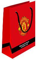 MU14-266K Пакет бумажный подарочный Manchester United
