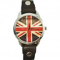Дизайнерские наручные часы - Британский флаг