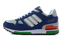 Мужские кроссовки Adidas ZX 750 (адидас) синие