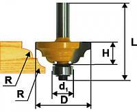 Фреза кромочная калевочная ф42.8х19, r6.4, хв.8мм (арт.9261)