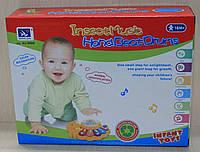 Детская развивающая игрушка Барабан с музыкальным и световым эффектом