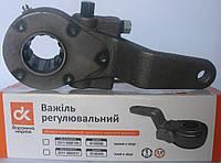 Рычаг регулировочный КамАЗ левый в сборе (по з.м.) <ДК>