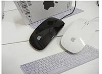 Проводная мышка apple черного цвета