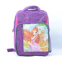 Школьный рюкзак Gorangd для девочек - фиолетовый