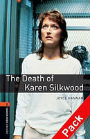 Книга для чтения Oxford Bookworms Library 2 Death of Karen Silkwood + CD