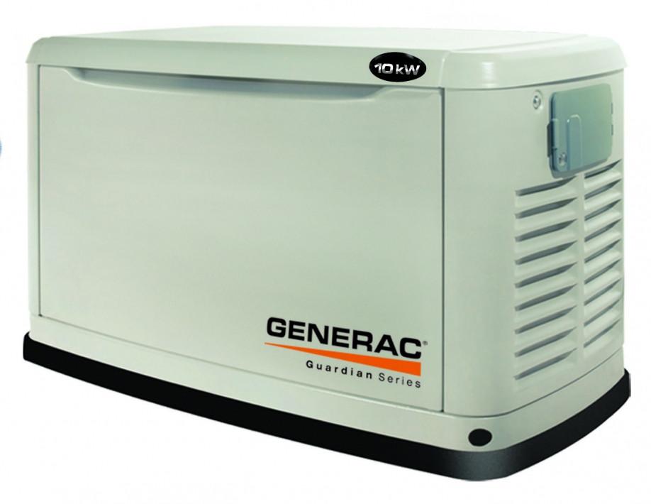Generac 6270 (5915) kW10 - газовый однофазный генератор на 10 кВт