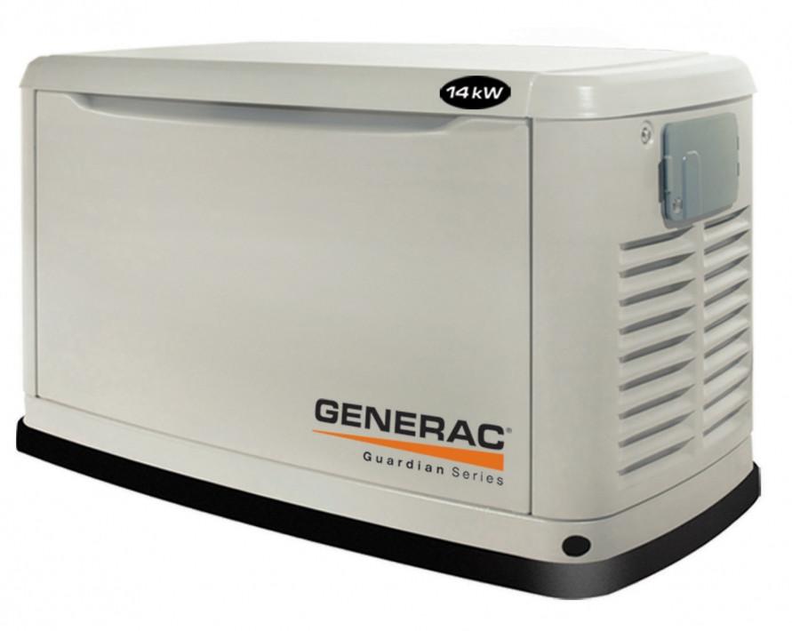 Generac 6271 (5916) kW13 - газовый однофазный генератор на 13 кВт