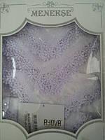 Кружевная скатерть с салфетками  MENEKSE