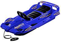 """Санки двухместные """"AlpenGaudi Double Race"""" синие арт. 994801"""
