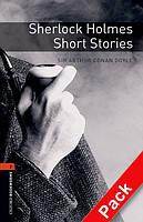 Книга для чтения Oxford Bookworms Library 2 Sherlock Holmes Short Stories + CD