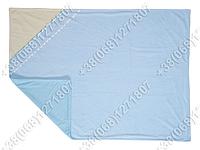 Детский велюровый летний плед 80х120 (розовый и голубой)