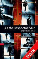 Книга для чтения Oxford Bookworms Library 3 As the Inspector Said + CD