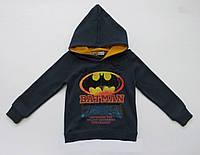 Утепленная кофта Batman унисекс. 80, 90, 100, 110, 120 см