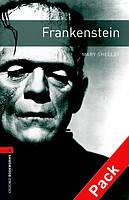 Книга для чтения Oxford Bookworms Library 3 Frankenstain + CD